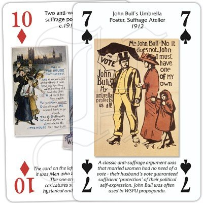 VOTES FOR WOMEN PLAYING CARDS 2