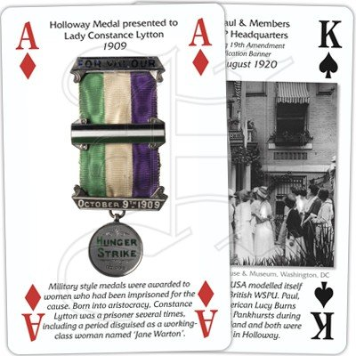 VOTES FOR WOMEN PLAYING CARDS 3
