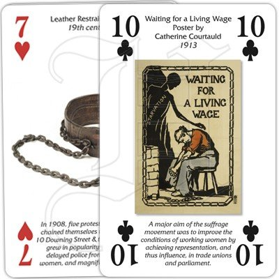 VOTES FOR WOMEN PLAYING CARDS 4