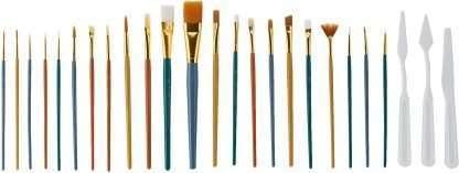 Variety Value Brush Set 25 pieces brushes