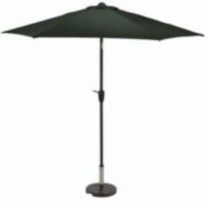 Aluminium parasol round crank 2.5m