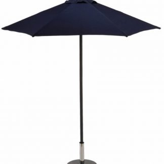 Aluminium parasol round push up 2m
