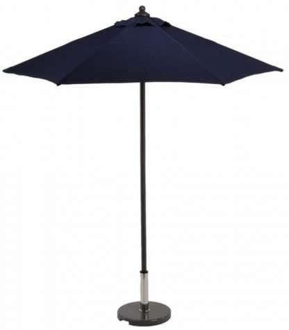 Aluminium parasol round push up 2m