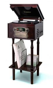 1950S VINTAGE RECORD PLAYER 1