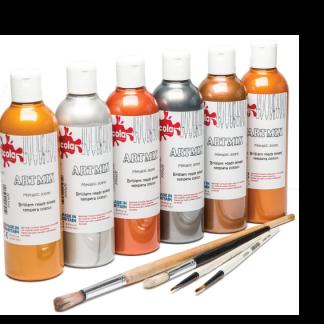 Ready Mixed Paints 600ml Metallic
